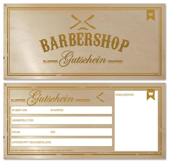 Friseur Gutscheinkarten NEUTRAL!!! 50 Barber Gutscheinkarten